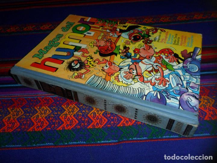MAGOS DEL HUMOR Nº XII 12. BRUGUERA 1973 HUG DOÑA TECLA BISTURÍN LÍO PORTAPARTES EL BOTONES SACARINO (Tebeos y Comics - Bruguera - Super Humor)