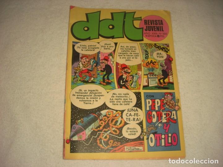 DDT Nº 350 CON PEPE GOTERA Y OTILIO (Tebeos y Comics - Bruguera - DDT)