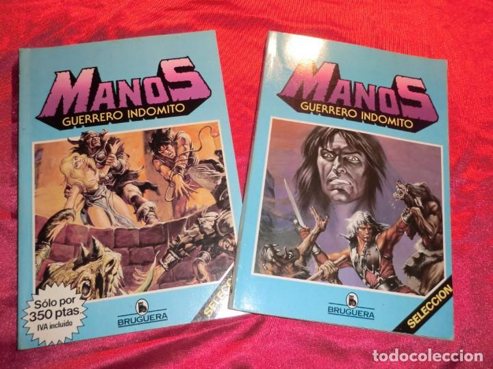 LOTE DE DOS TOMOS DE MANOS,( BRUGUERA) (Tebeos y Comics - Bruguera - Otros)