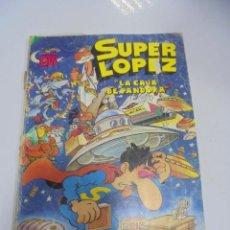 Tebeos: COLECCION OLE!. SUPER LOPEZ. LA CAJA DE PANDORA. Nº 8. EDICIONES B GRUPO Z. Lote 141753322