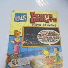 Tebeos: COLECCION OLE!. BENITO BONIATO. VIVA EL COLE. Nº 9. EDICIONES B GRUPO Z. Lote 141754550