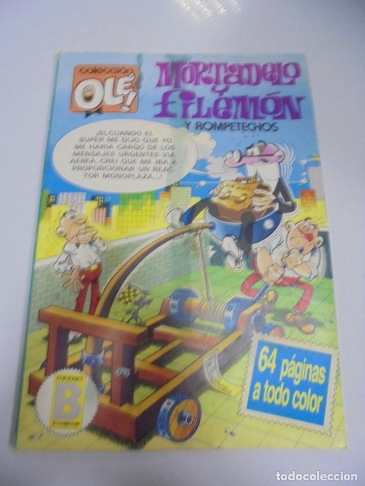 COLECCION OLE!. MORTADELO Y FILEMON Y ROMPETECHOS. 279 M 51. EDICIONES B GRUPO Z (Tebeos y Comics - Bruguera - Ole)