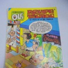 Tebeos: COLECCION OLE!. ROMPE TECHOS. LA VISTA ES LA QUE TRABAJA. Nº 14. EDICIONES B GRUPO Z. Lote 141755510