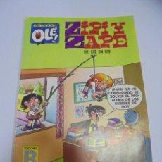Tebeos: COLECCION OLE!. ZIPI Y ZAPE. DE LIO EN LIO. 137 Z4. EDICIONES B GRUPO Z. Lote 141757654