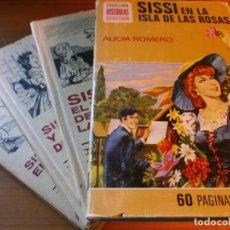 Tebeos: LOTE 4 HISTORIAS SELECCIÓN - SERIE SISSI - Nº 5, 6, 11,13 - MARCEL D'ISARD - EDT. BRUGUERA, AÑOS 60.. Lote 141882346