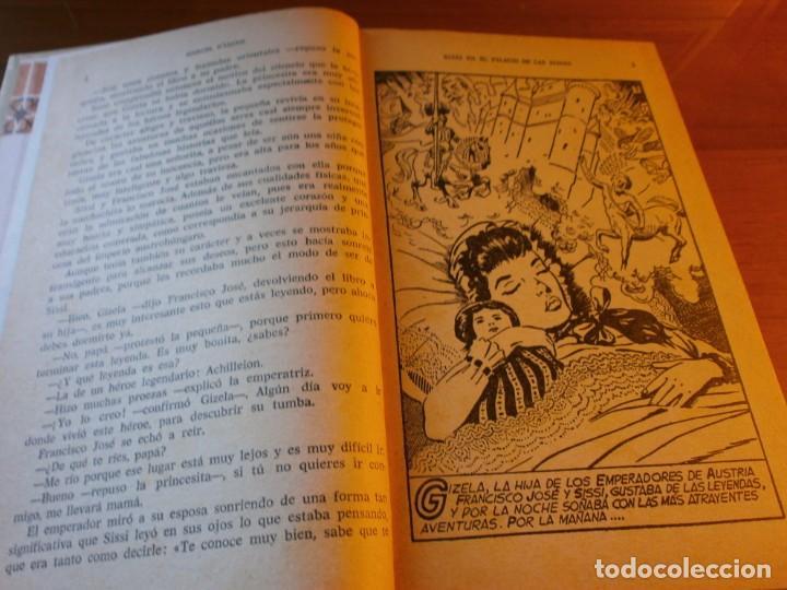 Tebeos: LOTE 4 HISTORIAS SELECCIÓN - Serie Sissi - Nº 5, 6, 11,13 - MARCEL DISARD - EDT. BRUGUERA, Años 60. - Foto 5 - 141882346
