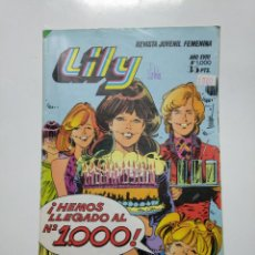 Tebeos: LILY Nº 1000. AÑO XVIII. REVISTA JUVENIL FEMENINA. TDKC39. Lote 141949890
