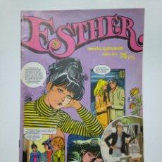 Tebeos: ESTHER Nº 4 (REVISTA QUINCENAL BRUGUERA). AÑO I. ENERO 1982. INCLUYE POSTER. TDKC39. Lote 142035098
