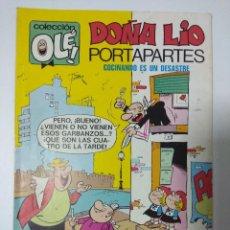 Tebeos: COLECCION OLE/DOÑA LIO PORTAPARTES/Nº27 BRUGUERA.. Lote 142065714