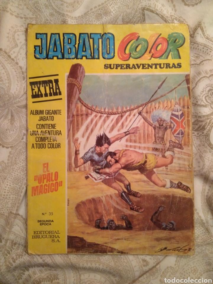 EL JABATO. N° 35. EL ÓPALO MÁGICO. (Tebeos y Comics - Bruguera - Jabato)