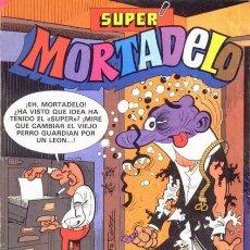 Tebeos: SUPER MORTADELO- Nº 145 -IBÁÑEZ-RIC HOCHET-DON PERCEBE-MINI REY-1983-M.BUENO-ESCASO-LEA-5705. Lote 296719803