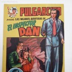 Tebeos: PULGARCITO ORIGINAL - SERIE MAGOS DEL LÁPIZ - INSPECTOR DAN - IMPECABLE. Lote 142204426
