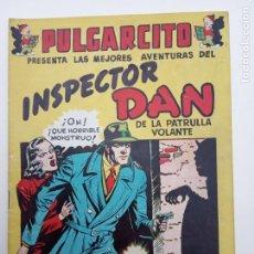 Tebeos: PULGARCITO ORIGINAL - INSPECTOR DAN - VACACIONES TODO EL AÑO - MUY NUEVO. Lote 142205090