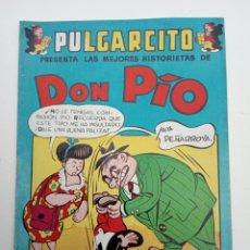 Tebeos: PULGARCITO ORIGINAL - VACACIONES TODO EL AÑO - DON PÍO - MUY BUEN ESTADO. Lote 142211034