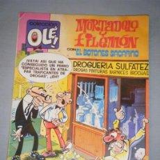 Tebeos: MORTADELO Y FILEMÓN. COLECCIÓN OLÉ. BRUGUERA 1985. Lote 142212730