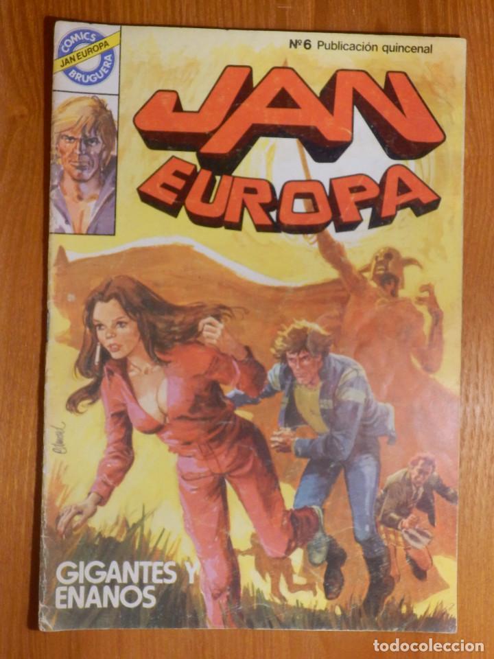 COMIC - TEBEO - JAN EUROPA - Nº 6 - GIGANTES Y ENANOS - BRUGUERA (Tebeos y Comics - Bruguera - Otros)
