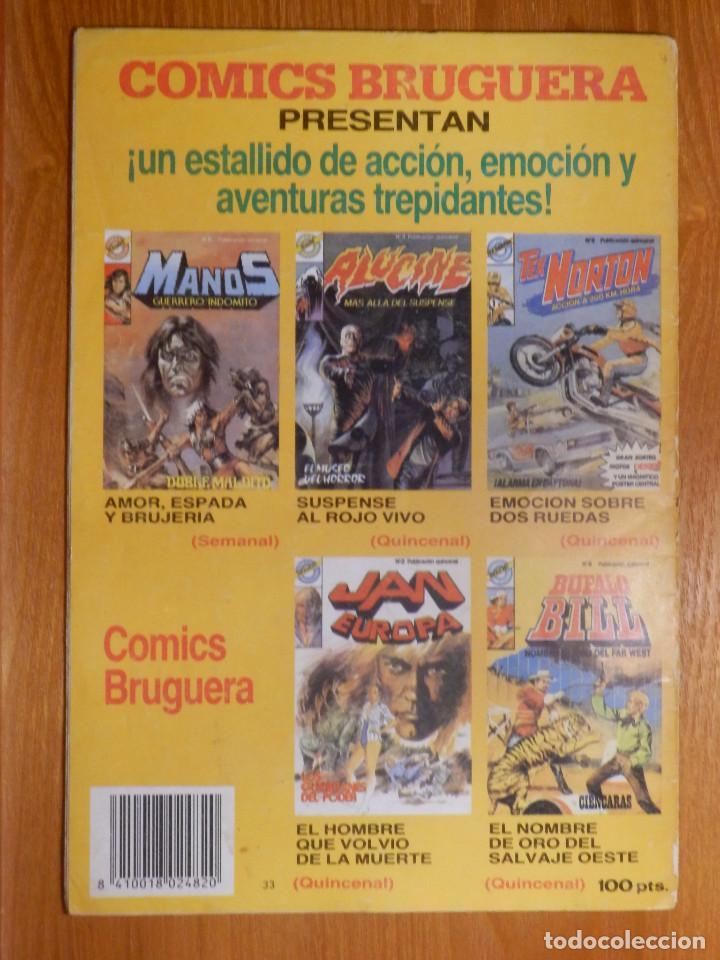 Tebeos: Comic - Tebeo - Jan Europa - Nº 6 - Gigantes y Enanos - Bruguera - Foto 2 - 142214362