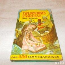 Tebeos: COLECCIÓN HISTORIAS EXPLORACIONES FAMOSAS 1ª EDICIÓN . Lote 142315658