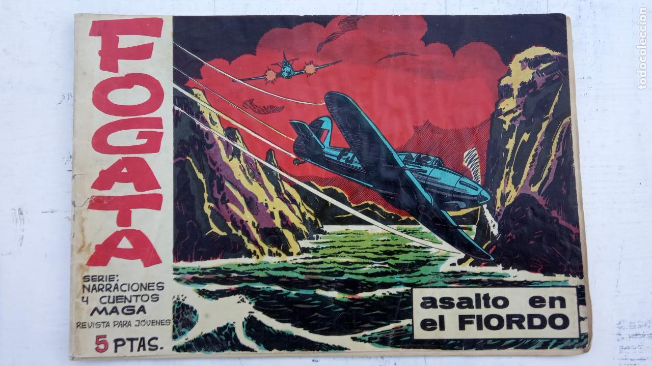 Tebeos: FOGATA ORIGINALES LOTE - NºS - 18,17,16,14,13,12,5 EDITOORIAL MAGA 1963 - Foto 3 - 142361926