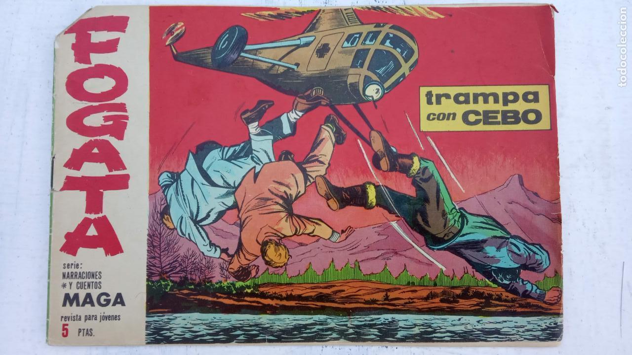 Tebeos: FOGATA ORIGINALES LOTE - NºS - 18,17,16,14,13,12,5 EDITOORIAL MAGA 1963 - Foto 5 - 142361926