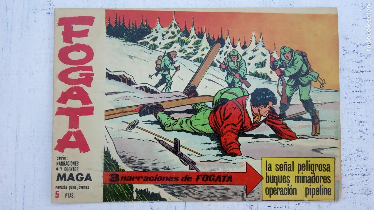 Tebeos: FOGATA ORIGINALES LOTE - NºS - 18,17,16,14,13,12,5 EDITOORIAL MAGA 1963 - Foto 6 - 142361926