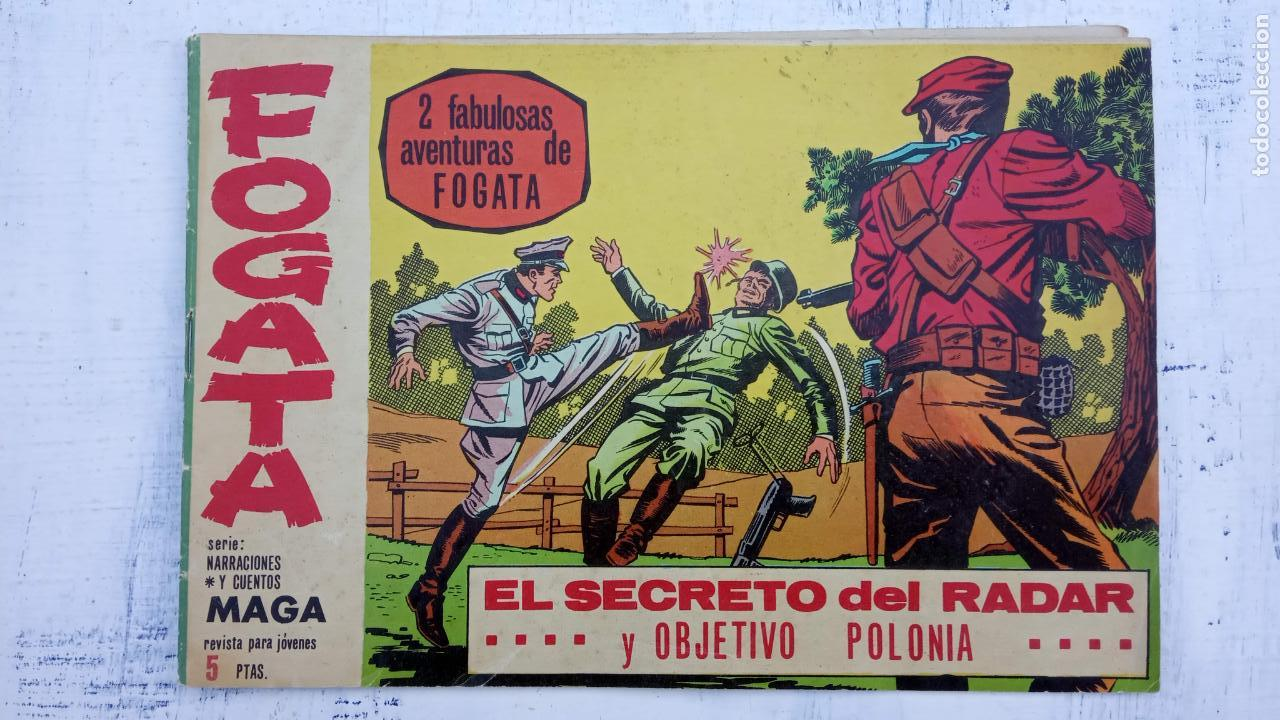 Tebeos: FOGATA ORIGINALES LOTE - NºS - 18,17,16,14,13,12,5 EDITOORIAL MAGA 1963 - Foto 7 - 142361926