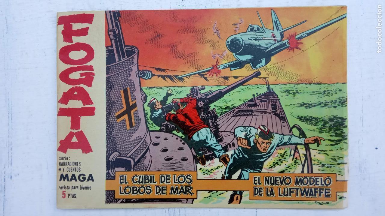 Tebeos: FOGATA ORIGINALES LOTE - NºS - 18,17,16,14,13,12,5 EDITOORIAL MAGA 1963 - Foto 8 - 142361926