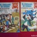Tebeos: EL CORSARIO DE HIERRO NºS 36 Y 37 1978 1ª EDICION JOYAS LITERARIAS JUVENILES SERIE ROJA BRUGUERA. Lote 142430942