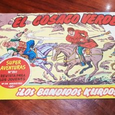 Tebeos: SÍ EXCELENTE ESTADO EL COSACO VERDE 1 SUPER AVENTURAS 282 BRUGUERA. Lote 142798128