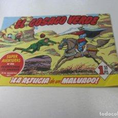 Tebeos: FACSIMIL. EL COSACO VERDE Nº 3 REVISTA PARA LOS JOVENES BRUGUERA CX01. Lote 142803550