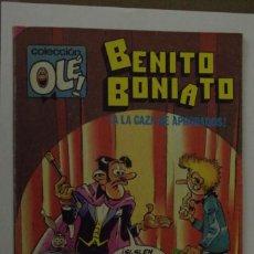 Tebeos: BENITO BONIATO - FRESNO`S - COLECCION OLE Nº 10 - 1ª EDICION ENERO 1985. Lote 142811818
