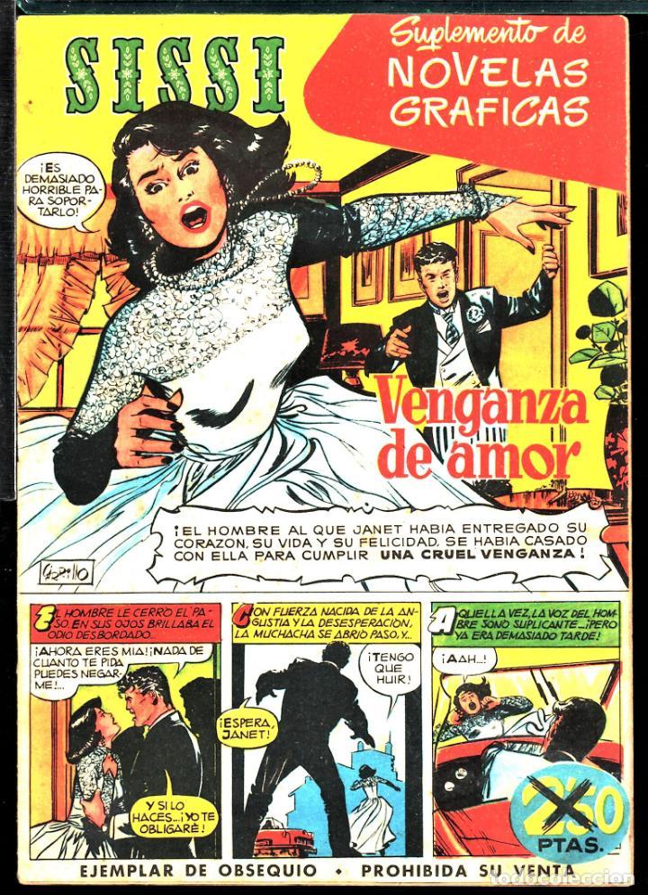 TEBEOS-COMICS CANDY - SISSI NOVELAS GRAFICAS - 1 - - RARO - *XX99 (Tebeos y Comics - Bruguera - Sissi)