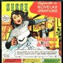 Tebeos: TEBEOS-COMICS CANDY - SISSI NOVELAS GRAFICAS - 1 - - RARO - *XX99. Lote 142831358