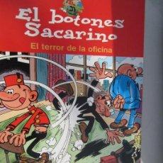 Tebeos: EL BOTONES SACARINO - EL TERROR DE LA OFICINA - EDICIONES B 2004 . Lote 142859126
