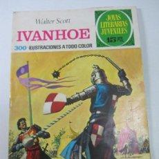 Tebeos: JOYAS LITERARIAS JUVENILES Nº 16. IVANHOE. LABERINTO ROJO. BRUGUERA 1ª EDICION 1971 CX01. Lote 142943494
