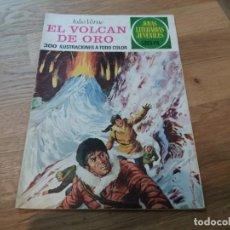 Tebeos: EL VOLCÁN DE ORO. JULIO VERNE. BRUGUERA. JOYAS LITERARIAS. N° 79. SEGUNDA EDICIÓN, 1977. . Lote 142951438