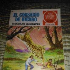 Tebeos: EL CORSARIO DE HIERRO Nº 24 SERIE ROJA 1ª EDICIÓN 1977. Lote 142977966