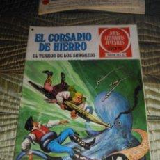 Tebeos: EL CORSARIO DE HIERRO Nº 27 SERIE ROJA 1ª EDICIÓN 1977. Lote 142978206