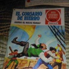 Tebeos: EL CORSARIO DE HIERRO Nº 28 SERIE ROJA 1ª EDICIÓN 1977. Lote 142978350