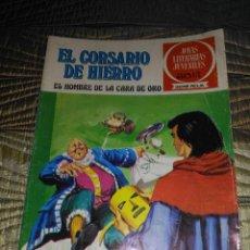 Tebeos: EL CORSARIO DE HIERRO Nº 32 SERIE ROJA 1ª EDICIÓN 1977 DIFÍCIL. Lote 142978934