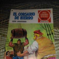 Tebeos: EL CORSARIO DE HIERRO Nº 33 SERIE ROJA 1ª EDICIÓN 1977. Lote 142979402