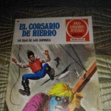 Tebeos: EL CORSARIO DE HIERRO Nº 35 SERIE ROJA 1ª EDICIÓN 1977 DIFÍCIL. Lote 142979750