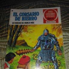 Tebeos: EL CORSARIO DE HIERRO Nº 37 SERIE ROJA 1ª EDICIÓN 1977. Lote 142979862