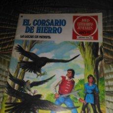 Tebeos: EL CORSARIO DE HIERRO Nº 38 SERIE ROJA 1ª EDICIÓN 1977. Lote 142980002