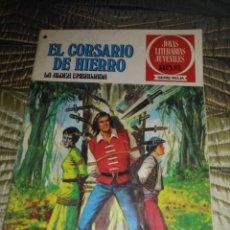 Tebeos: EL CORSARIO DE HIERRO Nº 40 SERIE ROJA 1ª EDICIÓN 1977. Lote 142980810