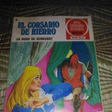 Tebeos: EL CORSARIO DE HIERRO Nº 41 SERIE ROJA 1ª EDICIÓN 1977. Lote 142980938