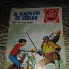 Tebeos: EL CORSARIO DE HIERRO Nº 42 SERIE ROJA 1ª EDICIÓN 1977. Lote 142981070