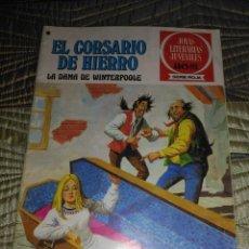 Tebeos: EL CORSARIO DE HIERRO Nº 43 SERIE ROJA 1ª EDICIÓN 1977. Lote 142981174