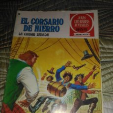 Tebeos: EL CORSARIO DE HIERRO Nº 44 SERIE ROJA 1ª EDICIÓN 1977. Lote 142981330
