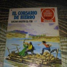 Tebeos: EL CORSARIO DE HIERRO Nº 45 SERIE ROJA 1ª EDICIÓN 1977. Lote 142981958